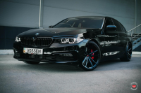 Фото галерея Vossen: BMW 5-Series на дисках Vossen CG-203