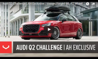 Audi Q2 Challenge | AH Exclusive | Vossen Forged ML-R2 Wheel at XS Car Night