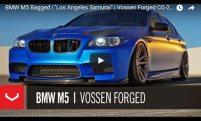 BMW M5 Bagged | Los Angeles Samurai | Vossen Forged CG-203