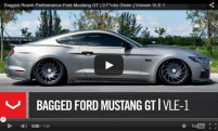 Bagged Roush Performance Ford Mustang GT | 0 F*cks Given | Vossen VLE1