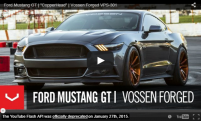 Ford Mustang GT | CopperHead | Vossen Forged VPS-301