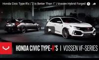 Honda Civic Type R | 2 is Better Than 1 | Vossen Hybrid Forged