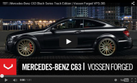 TBT | Mercedes-Benz C63 Black Series Track Edition | Vossen Forged VPS-305