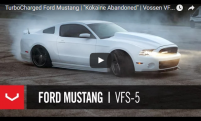 TurboCharged Ford Mustang | Kokaine Abandoned | Vossen VFS-5