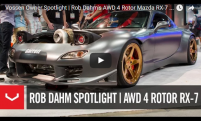 Vossen Owner Spotlight | Rob Dahms AWD 4 Rotor Mazda RX-7 | Vossen Forged LC-101